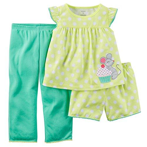 Carters Little 3 Piece Jersey Pajama