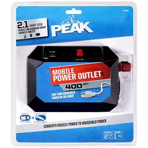 PEAK PKC0M04 Black Mobile Power Outlet