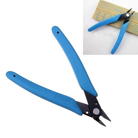 Alicates diagonales, alicates de corte de alambre eléctrico, tenaza de corte lateral diagonal para