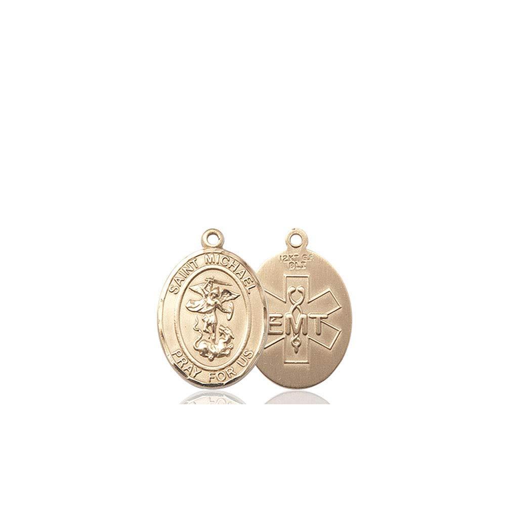 Michael The Archangel Pendant DiamondJewelryNY 14kt Gold Filled St
