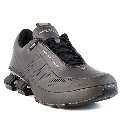 0f151c383e0b8 Porsche Design Bounce S4 Sneaker Leather Shoes Leather - Black - Import It  All