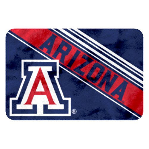 Officially Licensed NCAA Arizona Wildcats Raschel Rug with Non-Skid Backing, 20