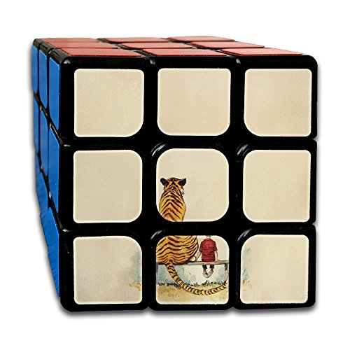 Smooth Sequential Puzzle Toy Calvin And Hobbes Speed Cube Standard 3x3 Magic Cube Stickerless Speed, IQ Games Puzzles