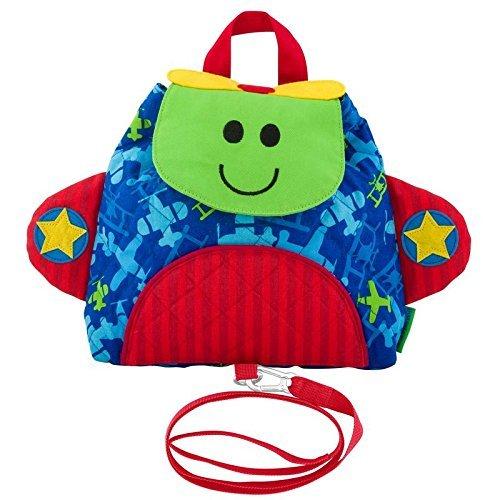 Stephen Joseph Polyester Little Buddy Airplane Blue Bag