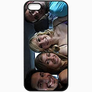 Personalized iPhone 5 5S Cell phone Case/Cover Skin 3 CANTANTES Football Black