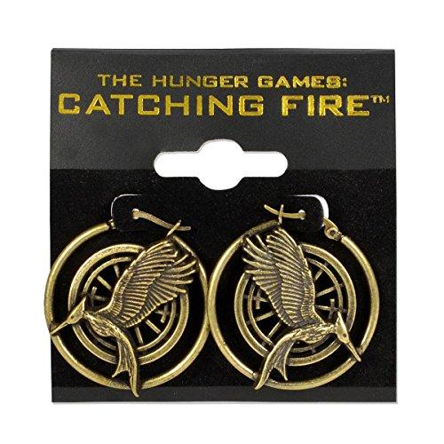 The Hunger Games 2 Earrings Mockingjay