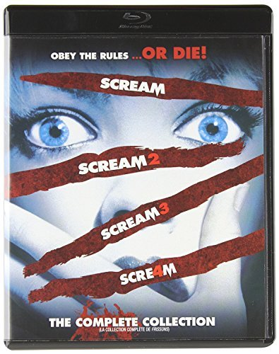 Scream: The Complete Film Collection 1-4 [Blu-ray 1 2 3 4] -