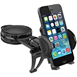 Macally Dash Mount, Dashboard Car Phone Holder for iPhone 6s 6 SE Samsung S7 S6 and More Smartphones