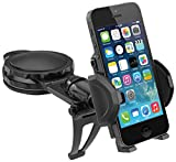 Macally Dashboard Car Phone Holder Mount with Super Strong Dash Suction Cup for iPhone X, XS Max, XR 8 Plus 7 7 Plus 6s Plus 6s 6 5S 5 SE Samsung Galaxy S9 S9+ S8 Plus S8 Edge S7 S6 Note etc. (DMOUNT)