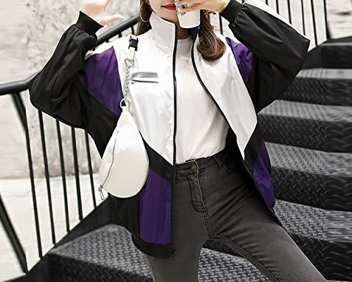 da uniforme Nero giacca Giacca corrispondenza autunno paio baseball BF giacca colore strada femminile sciolto studente sport SED stile TOfqZZ