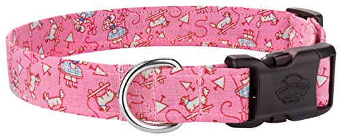 Country Brook Design | Deluxe Lil Bo Peep Designer Dog Collar - Extra Small ()