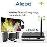 Alead Nolan TRX HDM2 Wireless Home HD MultiLinks Stereo Audio Transmitter and Receiver (A2DP), Long range, digital audio Optical, SPDIF. For TV, home theater, iPad, Bluetooth speakers, headphones