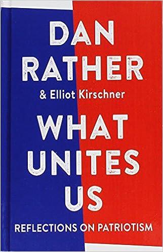 What Unites Us Reflections On Patriotism Thorndike Press Large