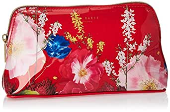 Ted Baker Cosmetic Case for Women- Red