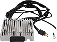 DB Electrical AHD6007-C New Chrome Voltage Regulator Rectifier for Harley Sportster 1986 1987 1988 1989 1990 8