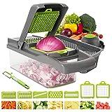 Vegetable Chopper Yibaision Mandoline Slicer Dicer For Fruits Vegetables, Professional Onion Cutter Vegetable