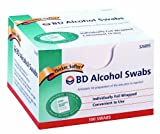 Bd Alcohol Swab 100 Units, 12-Count Personal Healthcare / Health Care