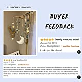 Baby Crib Mobile Wooden Wind Chime Bed Bell,Nursery