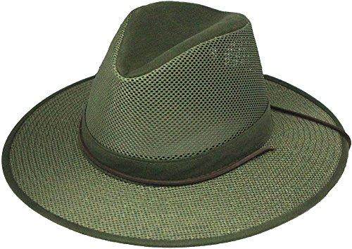 (Aussie Crushable Mesh Breezer, Green, Medium )