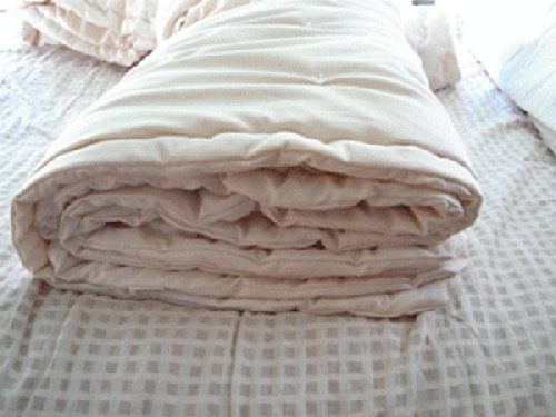 Holy Lamb Organics Dual Weight Comforter (King Dual Weight: Combo 3 - 1/2 Perfect & 1/2 Extra Warmth) by Holy Lamb Organics
