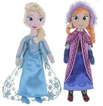 "Official Disney Frozen Anna Soft Toy Plush Doll Ragdoll 12/"" Tall"