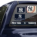 "MLB New York Yankees 15569110 Multi Use Decal, 11"" x 17"""