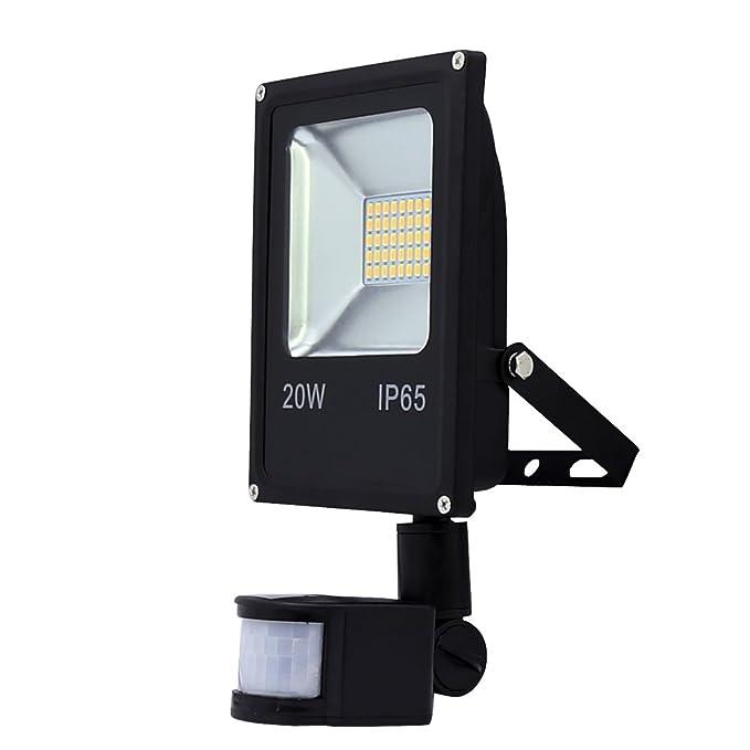 VINGO 20W LED PIR Warmweiß Bewegungsmelder Sensor Leuchte Wandlampe ...