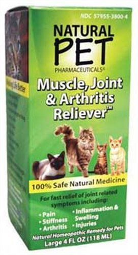 TOMLYN ProduCounts CountM38004 Natural Pet Muscle Joint Arthritis Cat, 4-Ounce