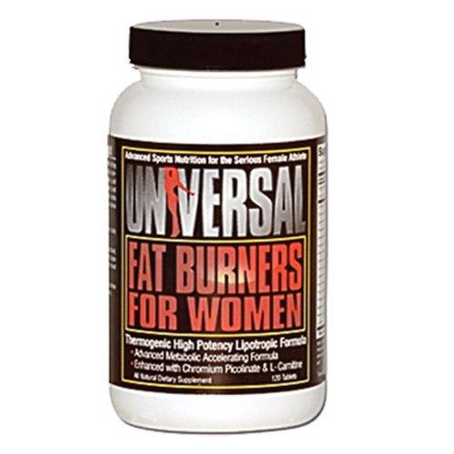 Universal Fat Burner Comprimés pour les femmes, 120-Count Bouteilles