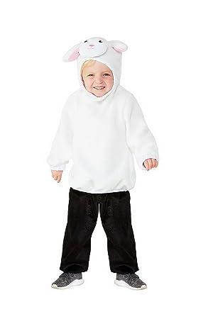 costumebakery - bebé Joven Chica Disfraz Toddler Peluche Oveja ...