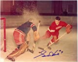 Gordie Howe Autographed Detroit Red Wings 8x10 Photo #2