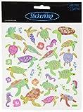 Tattoo King Multi-Colored Stickers-Sea Turtles