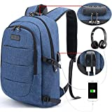 Tzowla Business Laptop Backpack Anti-Theft College Backpack with USB Charging Port and Lock 15.6 Inch Computer Backpacks for Women Men, Casual Hiking...