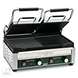 "Waring (WDG300) - 19"" Mixed Split-Top Panini Grill – Tostato Ottimo Series"