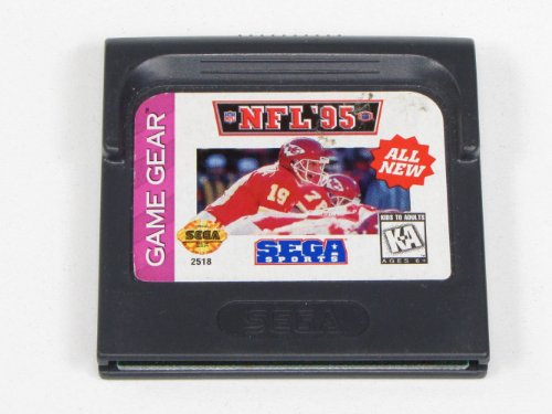 NFL Football 95 Sega Game Gear
