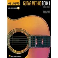 Hal Leonard Guitar Method Book 1: Bk/Online Audio