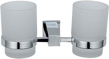 Einhebelmischer 10 Jahre Garantie Home Standard Aspen Waschbeckenarmatur zur Wandmontage Chrom