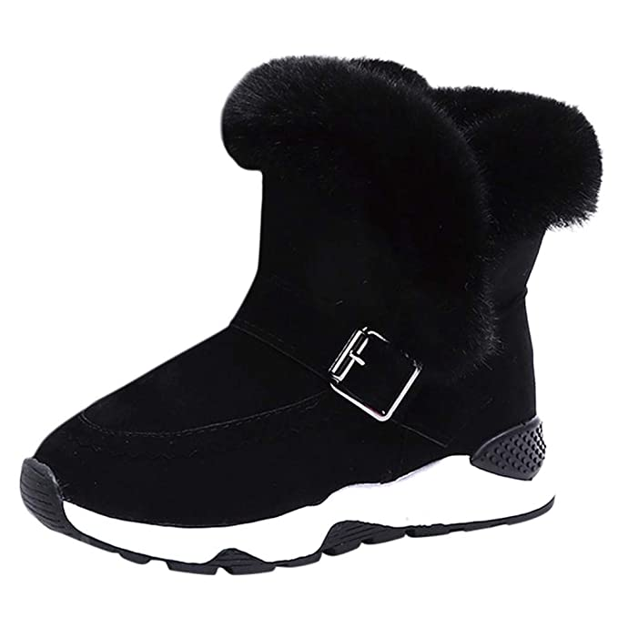 f057d84f50b89 Baby Toddler Girls Boys Fall Winter Boots Shoes 3-12 Years Old ❤ Kids