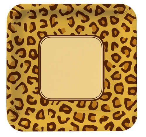 Creative Converting Animal Leopard Banquet