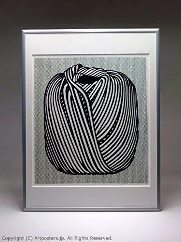 ロイ リキテンシュタイン 額付ポスターポップアート 額装品 シルバー B005LN2WZM シルバー シルバー