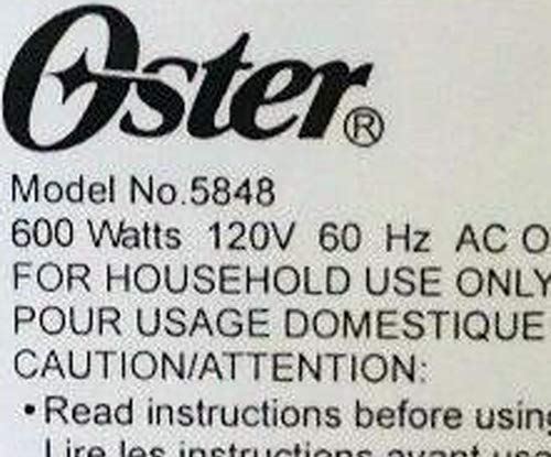 Pala para amasar compatible con Oster modelo 5848 ExpressBake ...