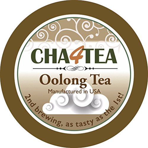 Cha4TEA 36 Oolong Tea K Cups for Keurig K-Cup by Cha4TEA (Image #1)