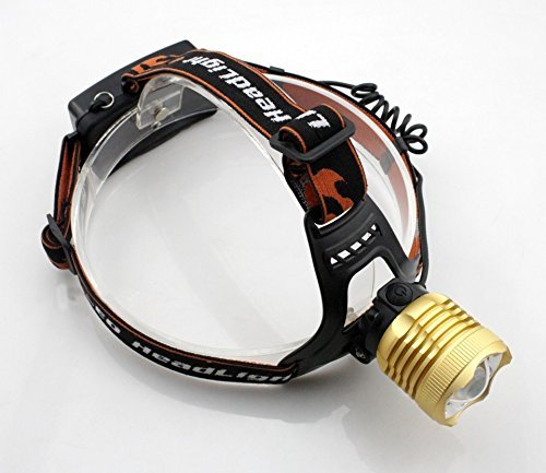 BESTSUN Rechargeable 1800Lumens Headlamp Zoomable 3-Mode LED