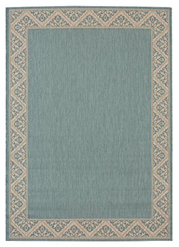 Light Blue Indoor Outdoor Rug