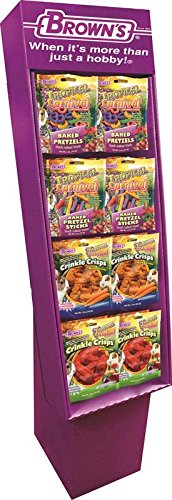 F.M. Browns 44952 32 Piece Tropical Carnival Small Animal Gourmet Treat