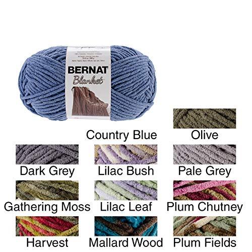 Bernat Blanket Yarn, Olive