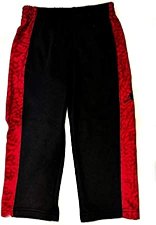 cartel De nada Minero  Nike Air Jordan - Pantalones de chándal para niños, Color Negro y Rojo  (4T): Amazon.es: Deportes y aire libre