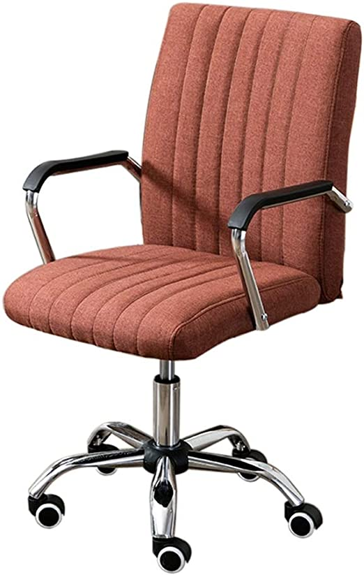 Amazon Com Jinxuxiongdi Computer Chair Home Office Chair Multi Color Optional Conference Chair Staff Swivel Chair Lift Chair Color Red Brown Kitchen Dining