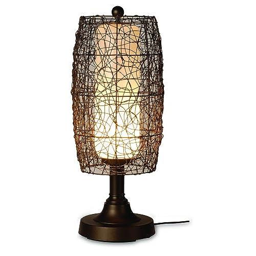 Wicker table lamp amazon aloadofball Image collections