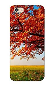 Cute High Quality Iphone 6 Plus Autumn Tree Landscape Case Provided By Freshmilk